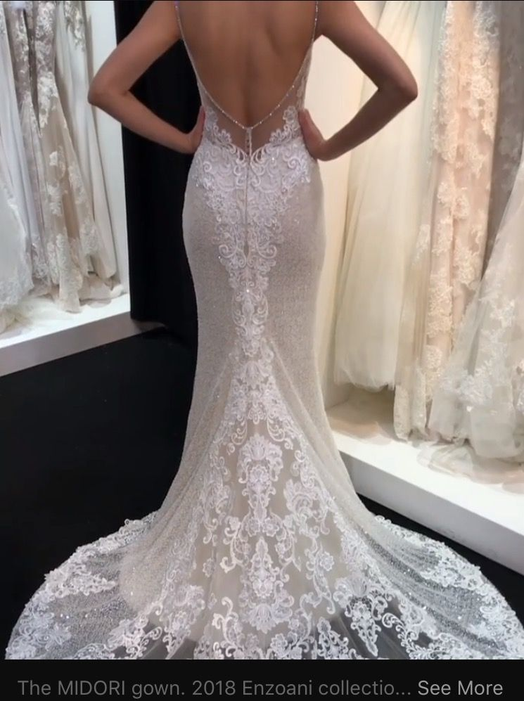 6931abe7896 2018 Enzoani Midori gown - I m in love
