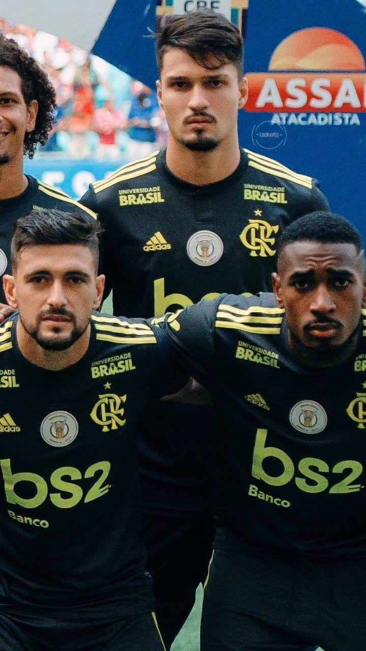 Arrascaeta Matheus Thuller Gerson Flamengo Flamengo 2019