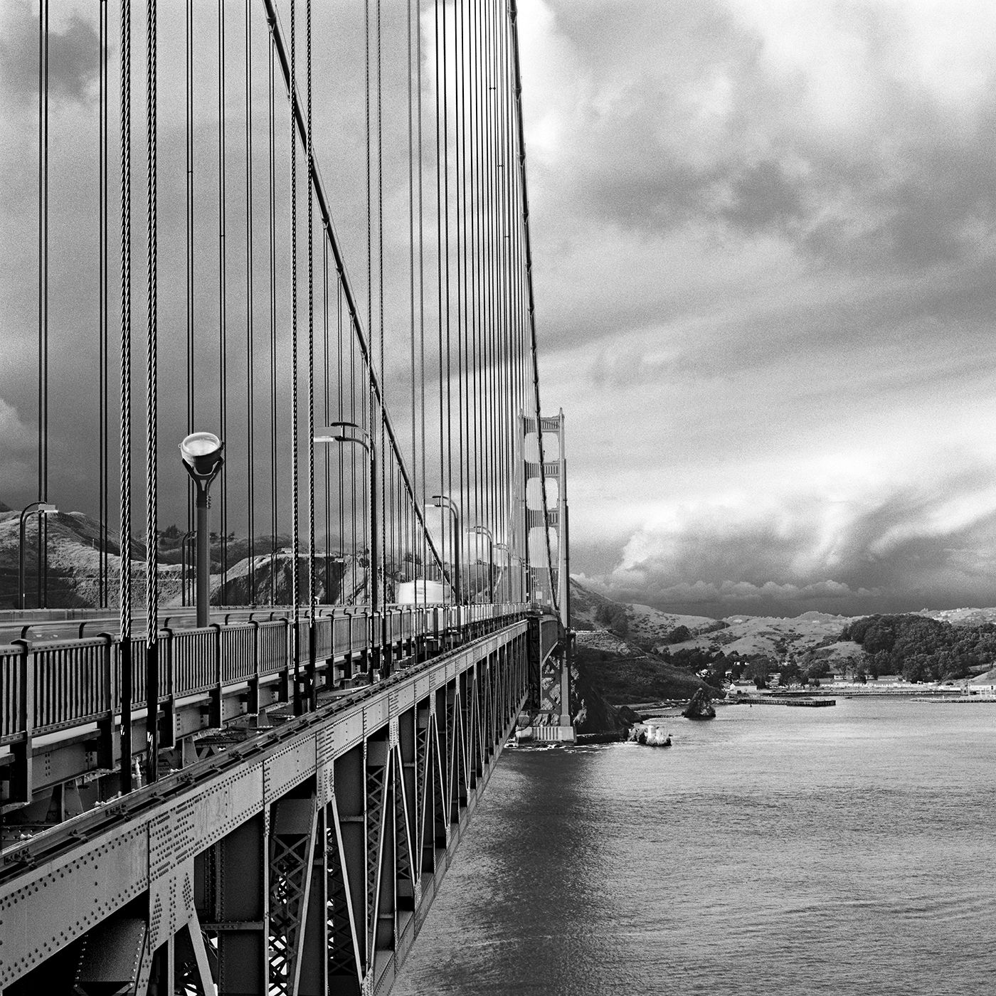 Clearing Storm at the Golden Gate