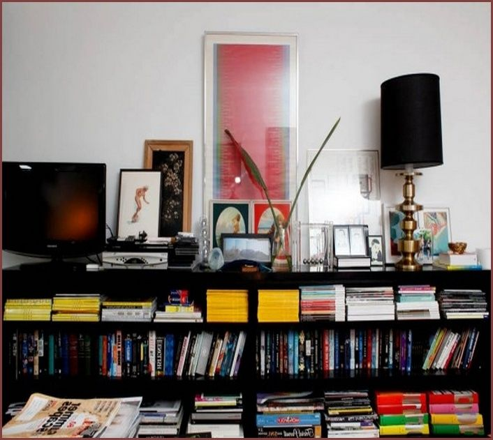 Image Result For Long Low Bookcase
