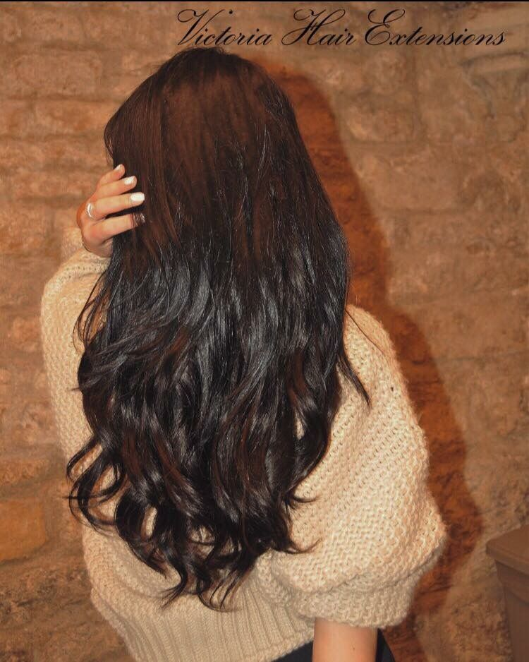 Long Hair Instantly Using Extra Deluxe Clip In Victoria Hair