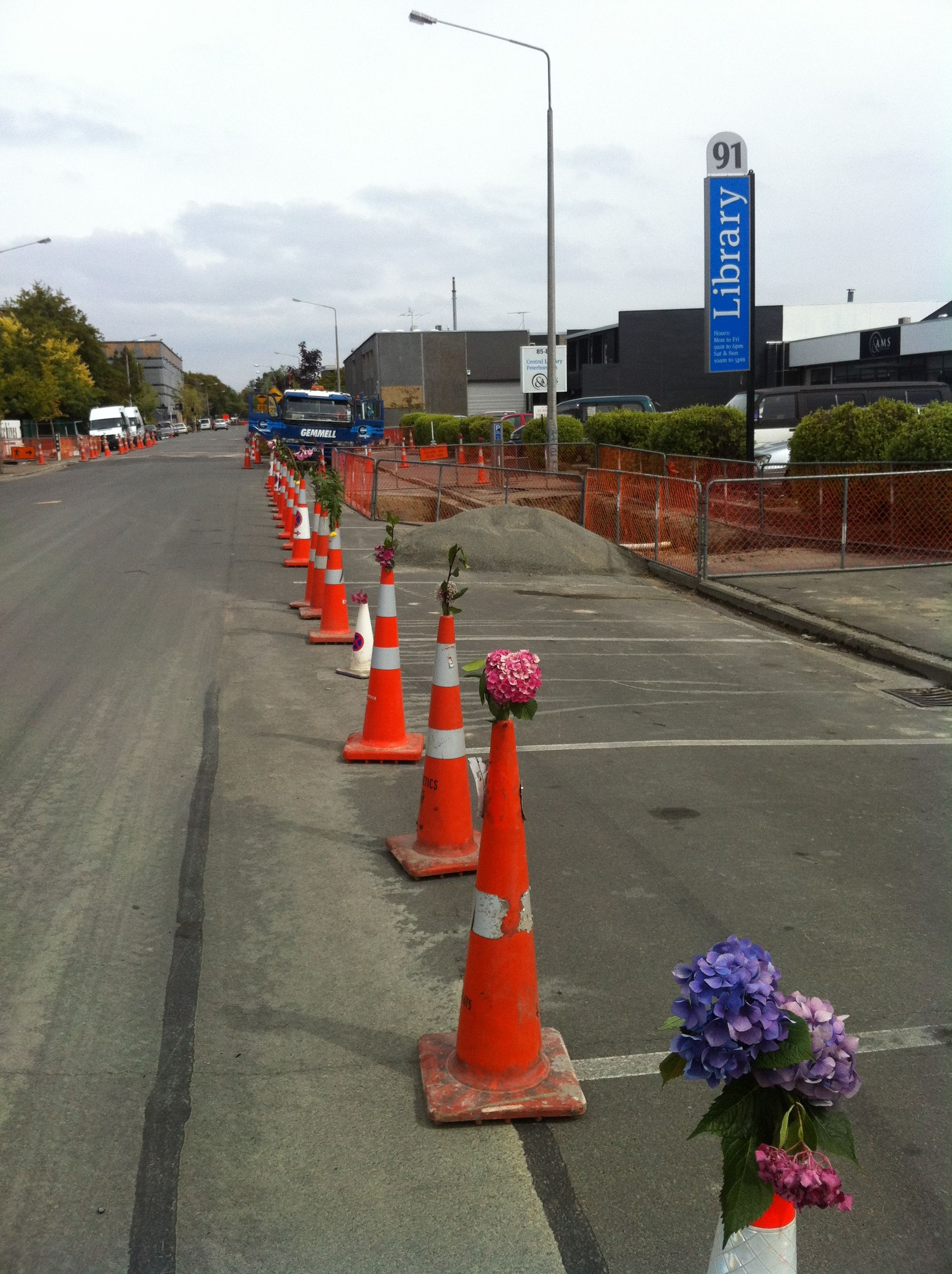 Christchurch on the anniversary of the earthquake