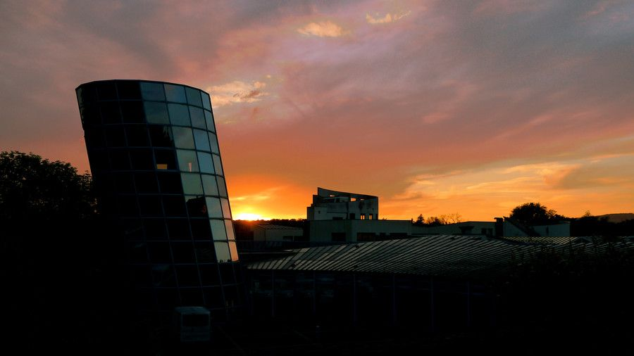 Sunset at the UTBM by Florian Duchamp on 500px