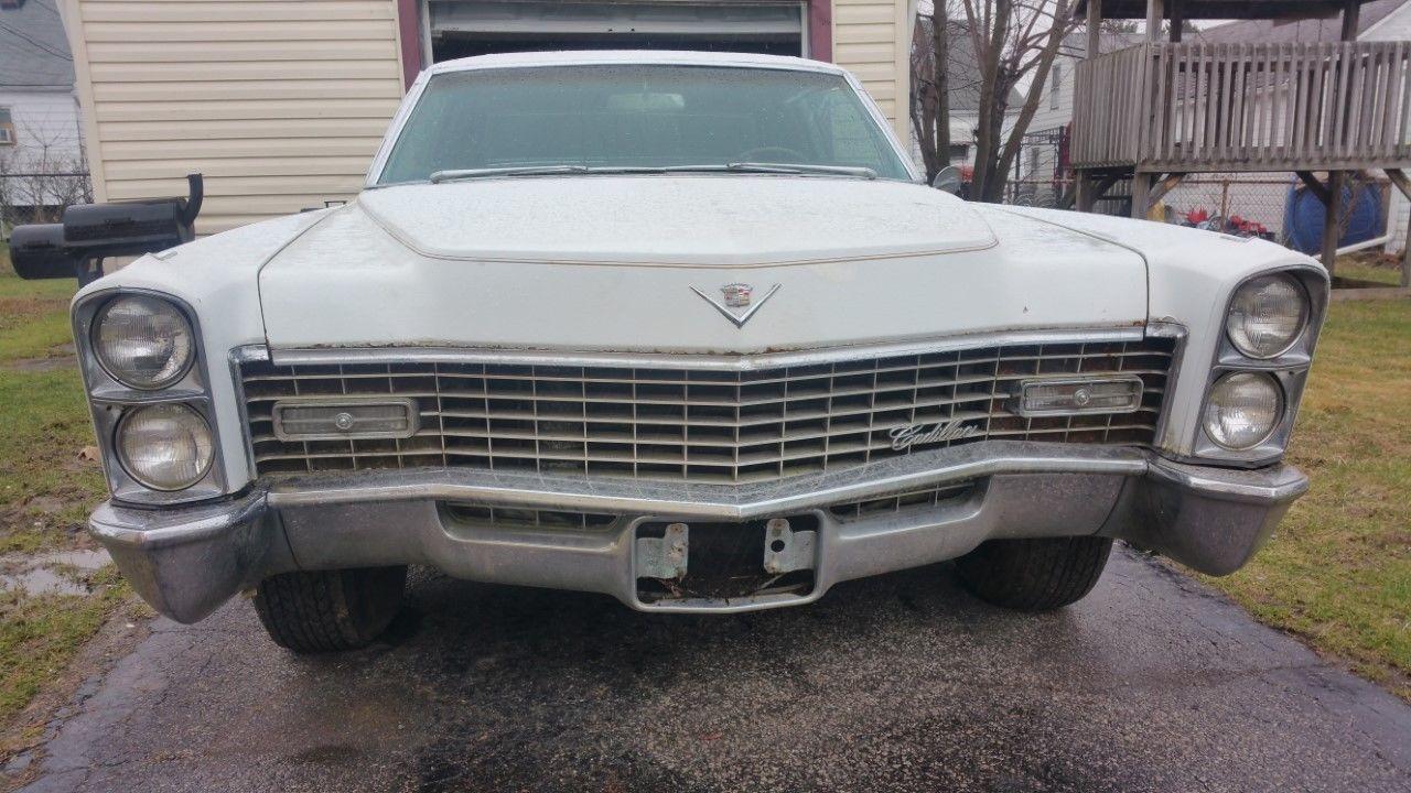 eBay: 1967 Cadillac DeVille Coupe 1967 Cadillac Coupe Deville- PARTS