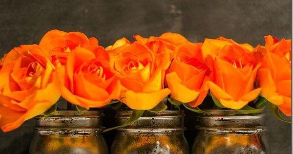 how to make mercury glass mason jars with silver spray paint -- great idea!!!!!!