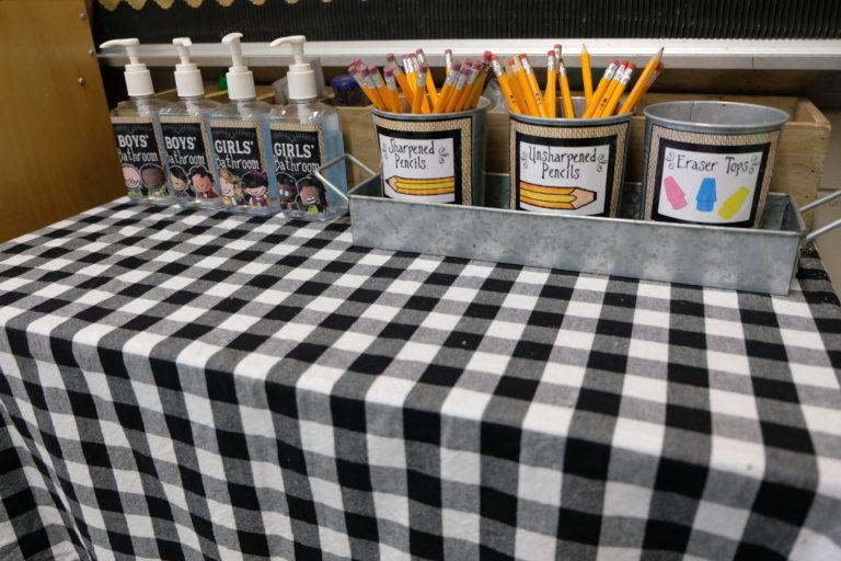 Farmhouse Style Classroom Decor #elementaryclassroomdecor