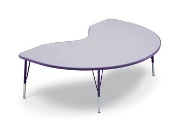 Kidney Bean Shaped Tables Are The Best!