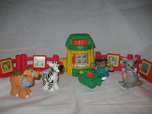 Noah/'s Ark Play Sets 2005 Fisher Price Fisher Prince Little People Zoo Animal Orange Milky-Orange Color Milky-Orange Color Bengal Tiger Zoo, Noahs Ark Play Sets 2005