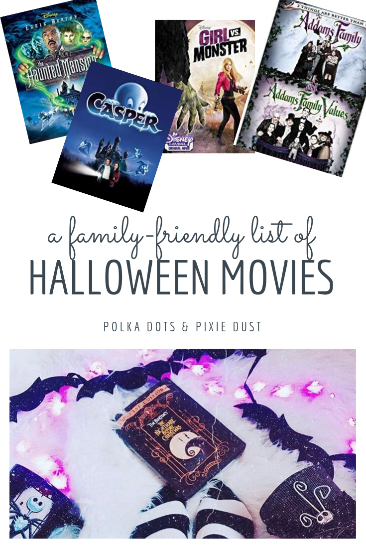 Halloween Movies for the whole family! We've gathered our