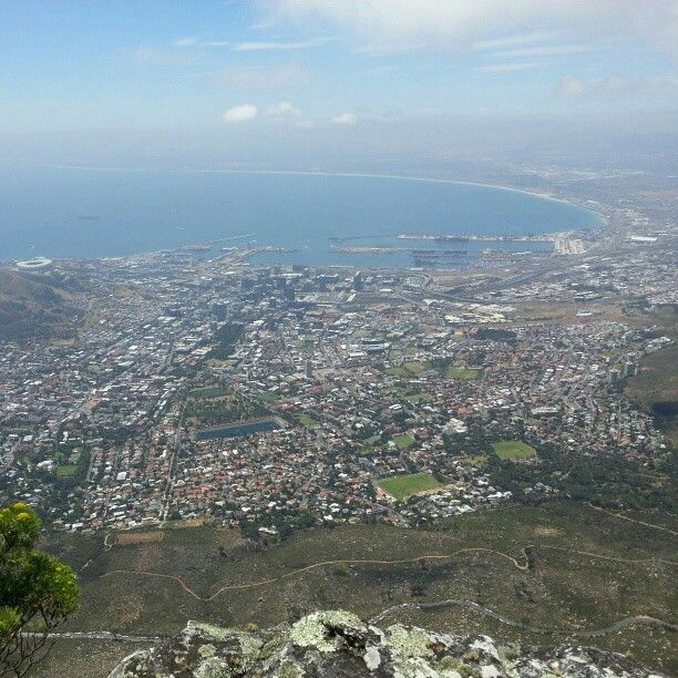 A scenic view of Cape Town, South Africa