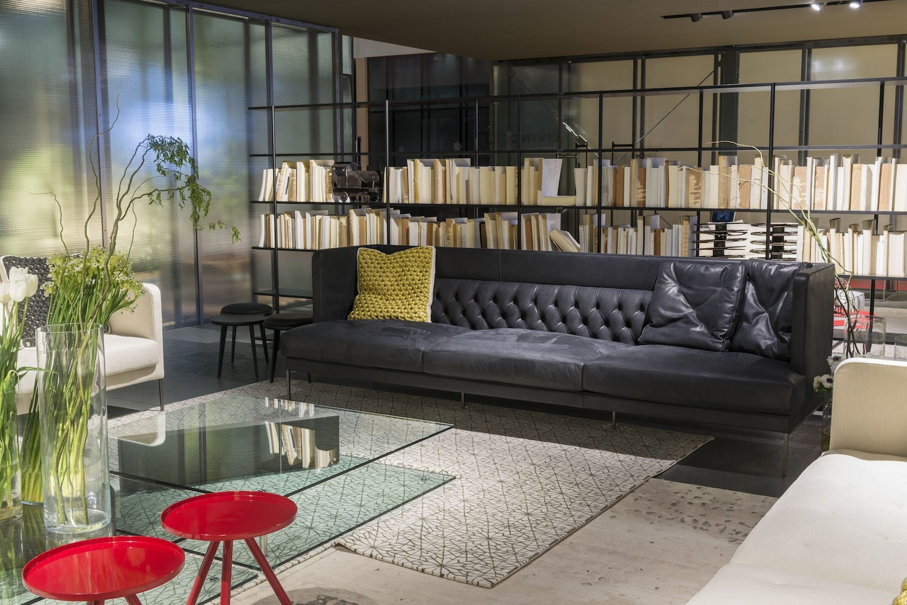 Living Divani AERO Shelf SHIBULERU Industrial Design