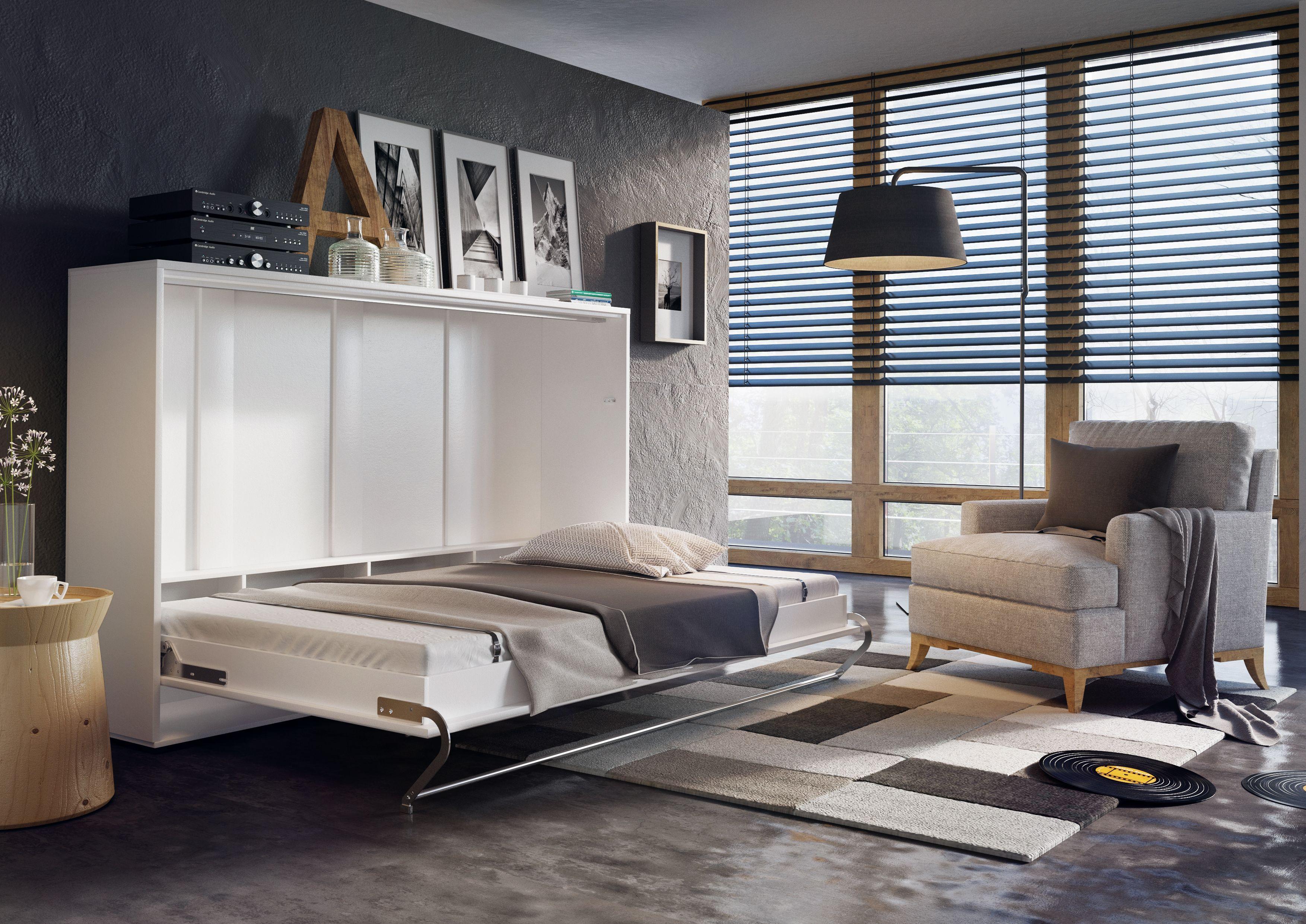 Specjalne pasy spinające pozwolą na składanie łóżka razem z pościelą ...