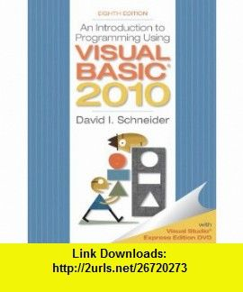 Starting Out With Visual Basic 2010 5th Edition Pdf