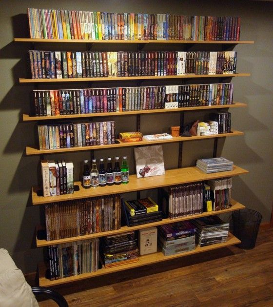 Bookshelves Design creative homemade bookshelves in simple designs: gorgeous wooden