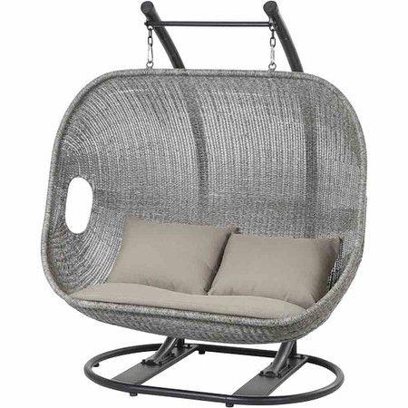 siena garden h ngekorb bedfort zwei sitzer stahlgestell. Black Bedroom Furniture Sets. Home Design Ideas