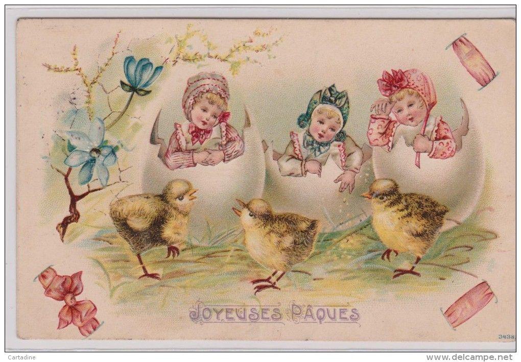 Postcards > Topics > Holidays & Celebrations > Easter - Delcampe.net