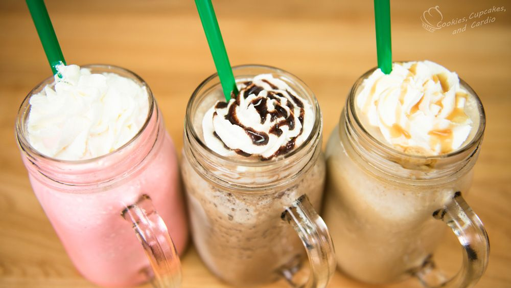 Copycat starbucks frappuccino with images caramel