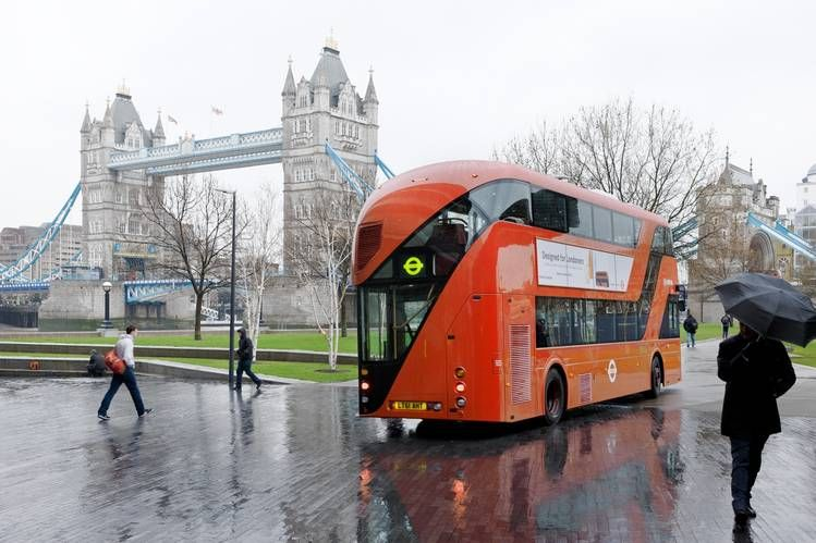Heatherwick Studio's new double-decker bus for London.