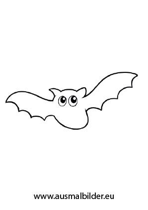 Ausmalbild Halloween Fledermaus Ausmalen Halloween Geist Ausmalbild