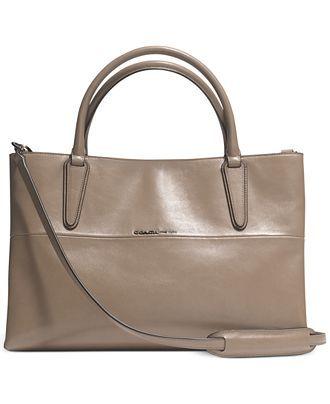 coach the soft borough bag in nappa leather coach handbags rh pinterest com