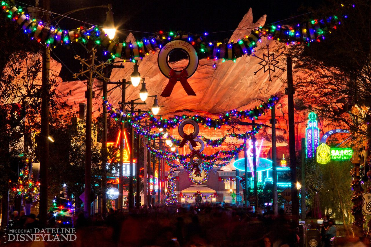 Christmas comes to disneyland with unique new holiday