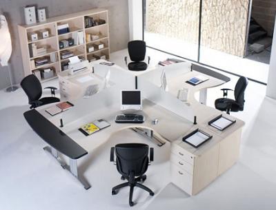 Muebles Modernos Oficinas | Decoración de Oficinas y escritorios ...