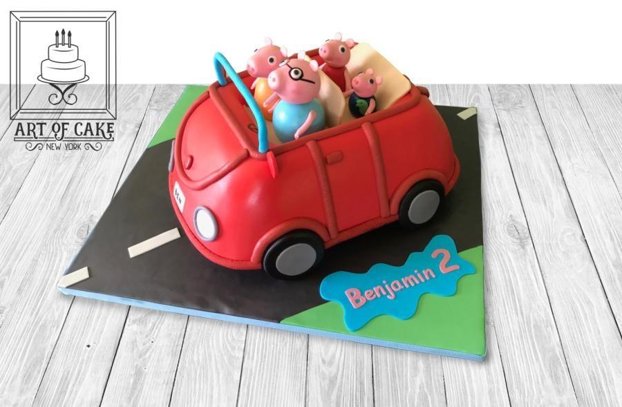 Peppa Pig 3d Car Cake Car Cakes Pinterest Car Cakes And Cake