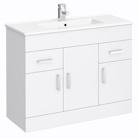Turin Vanity Sink With Cabinet 1000mm