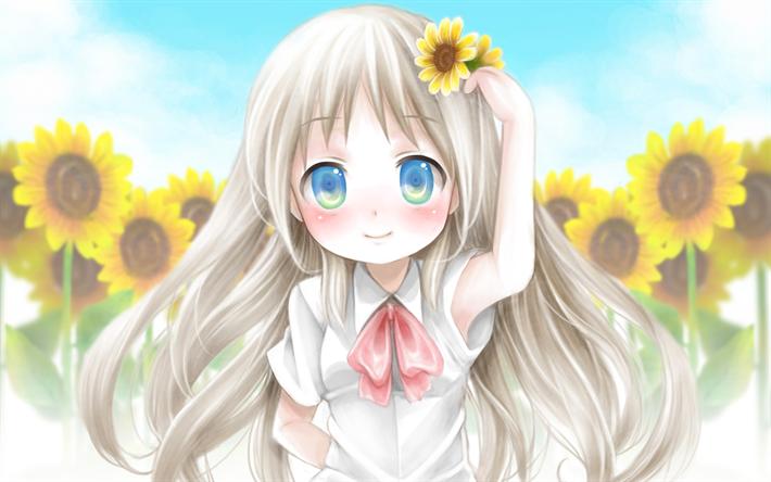 Descargar fondos de pantalla Kudryavka Noumi, manga, personajes de anime, Little Busters