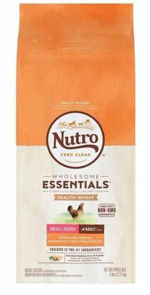 Nutro Wholesome Essentials Small Breed Adult Weight Management
