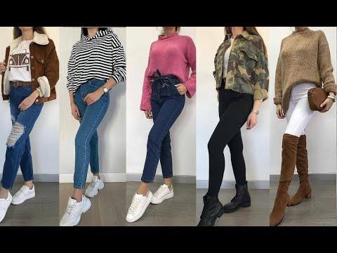 ملابس مراهقات شتوية 2021 تنسيقات ملابس بنات 2021 كوني انيقة حتى في فصل الشتاء Winter Fashion 2021 Youtube Fashion Pants Capri Pants
