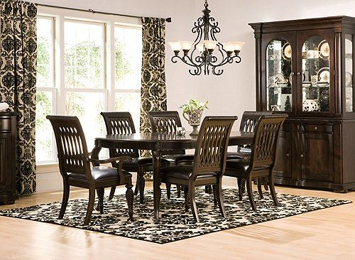 belmont 7-pc. dining set | dining sets | raymour and flanigan, Esstisch ideennn