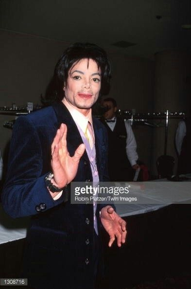 Pop Star Michael Jackson Atttends The G P Foundations Angel Ball Honoring Queen Noor Of Jordan Mikhail Gorbachev And Sir Paul McCartney November 30