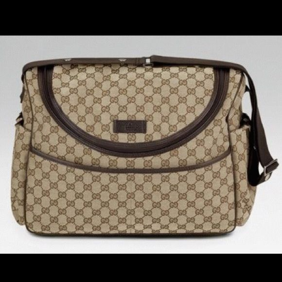 Authentic Gucci Diaper Bag Gently Used Bags Baby