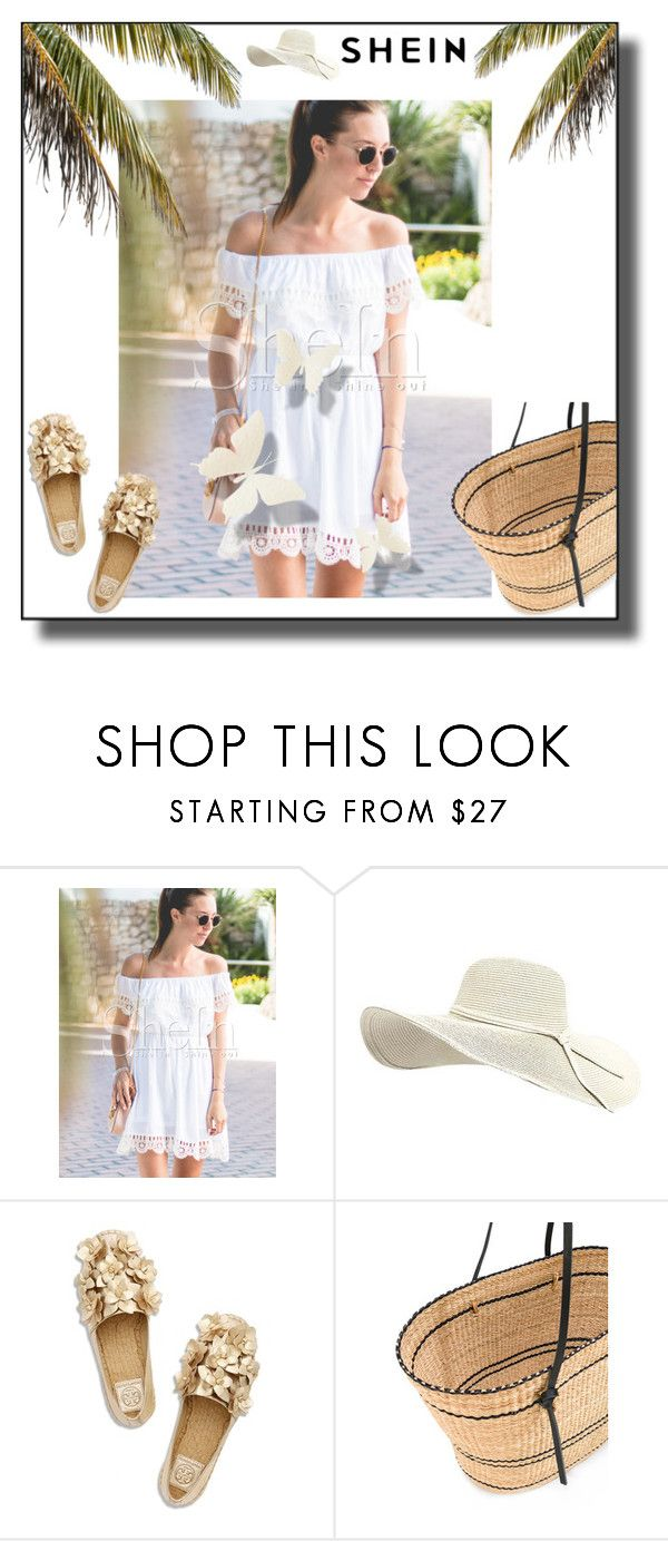 """""""SHEIN"""" by lolitapapita ❤ liked on Polyvore featuring WithChic, Tory Burch and Muuñ"""