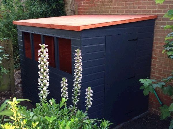Garden Sheds With Lean To tiger sheds shiplap lean to pent shed | wooden lean to pent garden