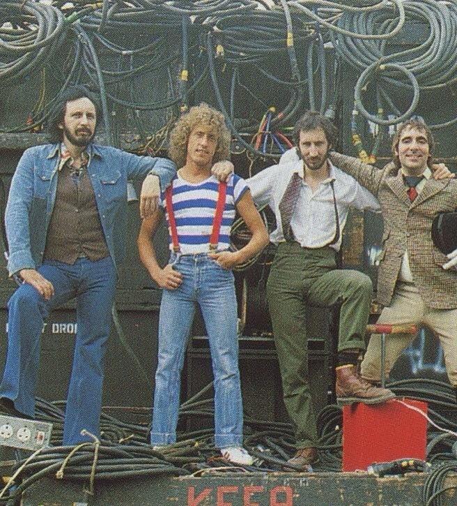 Who Are You Album Cover Photo Shoot Who Beatles Guitar