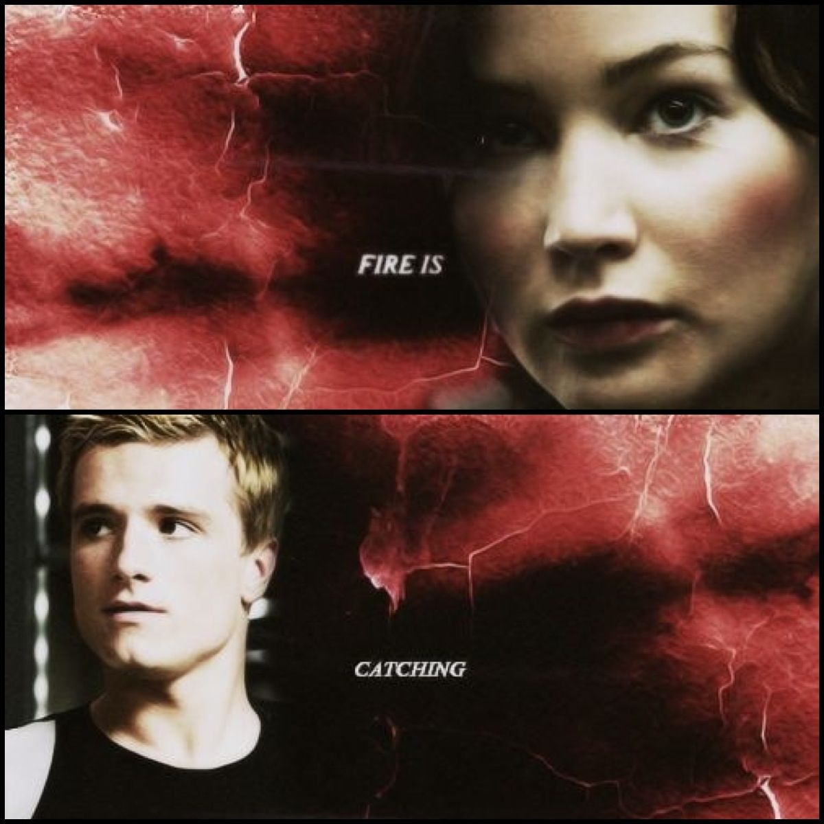 Hunger Games / Catching Fire / Hunger Games Quote / Katniss / Peeta