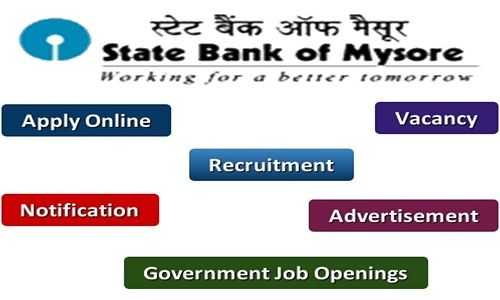 State Bank of Mysore PO Recruitment 2017 Check Application Exam - bank application
