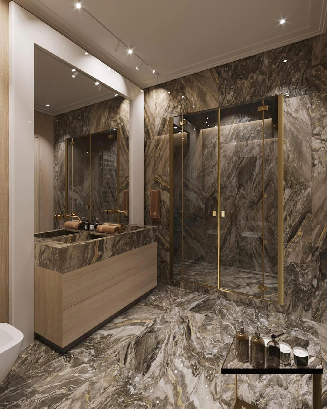 Luxury Interiors On Instagram What Do You Think Of This Bathroom Design Via Onlyforluxury Home Decor Top Interior Design Firms Interior Design Colleges