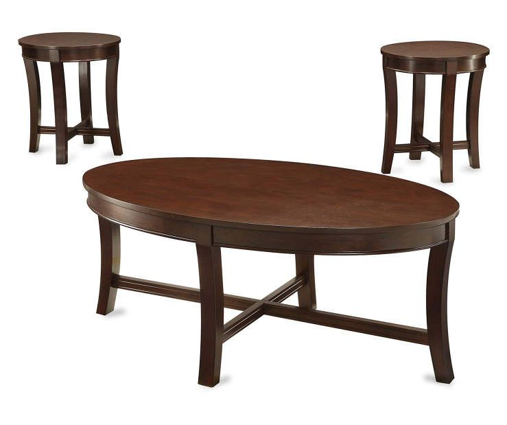 Best Espresso Wood 3 Piece Occasional Table Set Home Decor 400 x 300