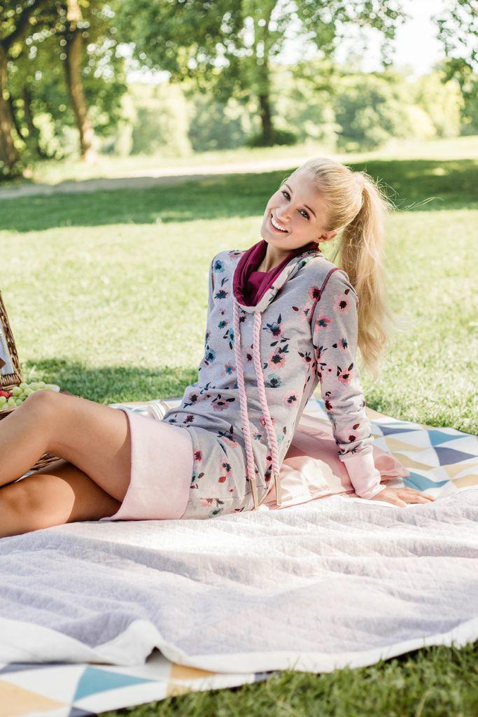Kostenloses Schnittmuster: Sweat-Kleid | Nähen | Pinterest ...