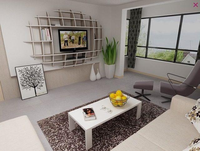 Modern Shelf Design Idea Modern Shelf Design Shelf Design Shelves #shelves #design #in #living #room