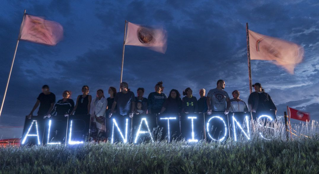 Native American Activism Just Scored A Major Victory Sapiens Native American Standing Rock Native American Heritage