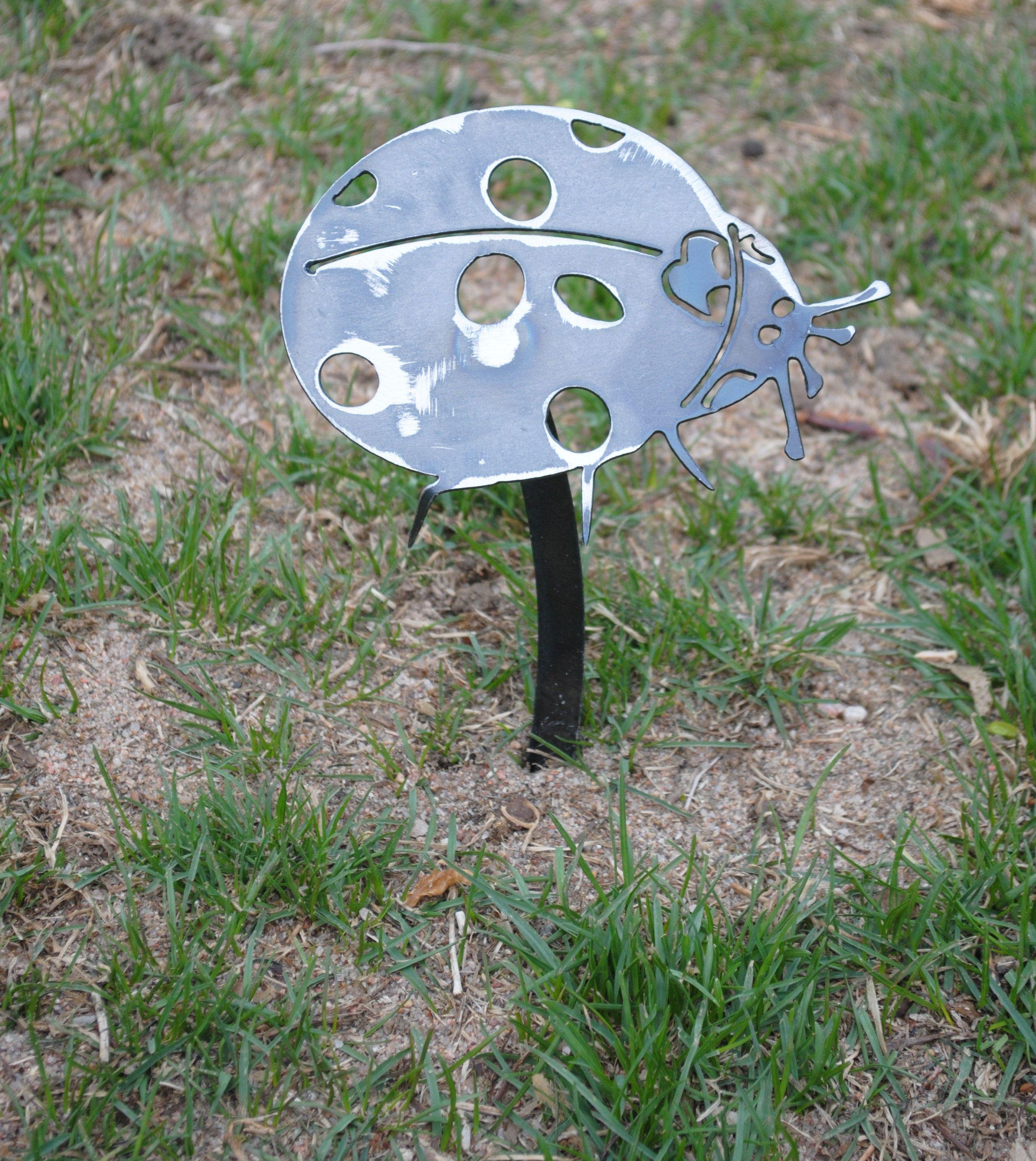 Garden Of Art: Metal Ladybug Garden Decor, Metal Ladybug, Ladybug, Bug