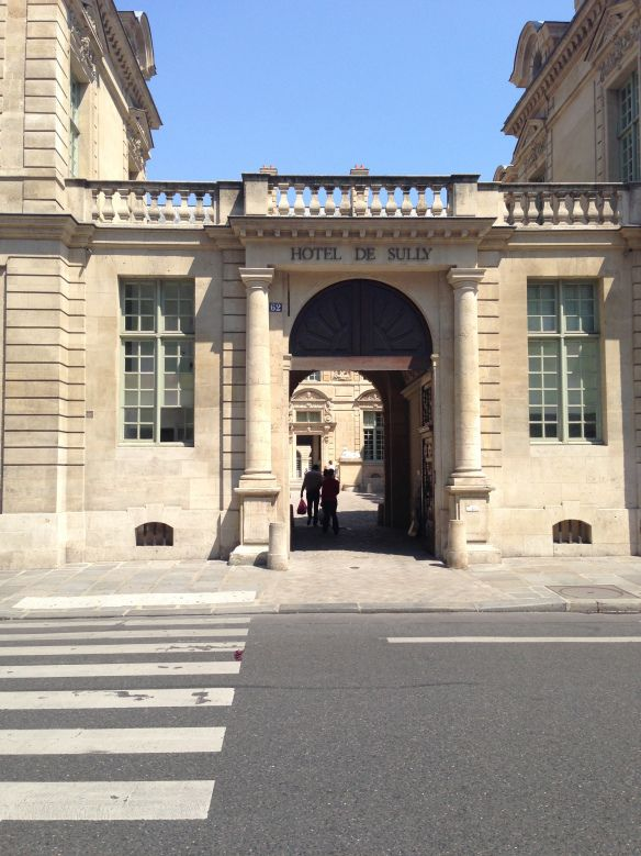 Hotel de Sully, Marais, Connecting to Place des Vosges. Paris 4e