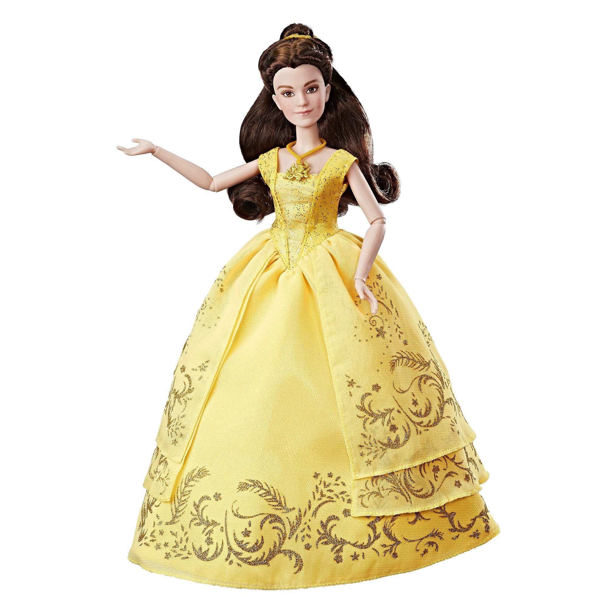 Disney beauty and the beast enchanting ball gown belle belle doll