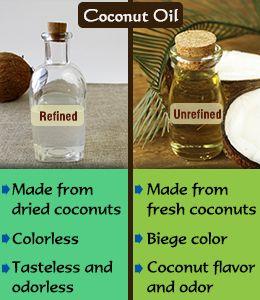 Refined Vs Unrefined Coconut Oil Coconut Oil Uses Unrefined Coconut Oil Best Coconut Oil