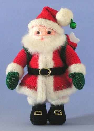 Crocheted Santa Claus Amigurumi - FREE Crochet Pattern and Tutorial ...