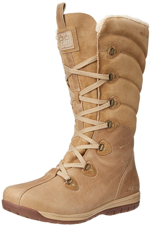 Helly Hansen W Skuld 4, Boots femme, Noir, 38